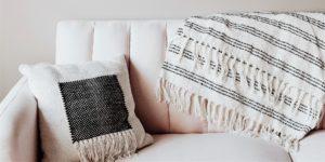 Realtor Genet Mehari couch